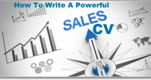 How To Write A Powerful Sales CV