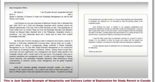 letter of explanation study permit canada example