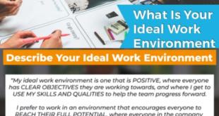 Describe Your Ideal Work Environment Answer