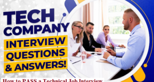 TECH COMPANY Interview Questions & Answers
